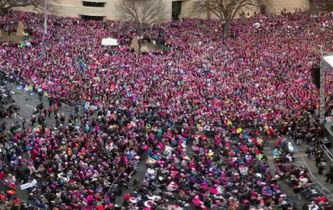 Washington D.C. was flooded with protestors at the Women's March.