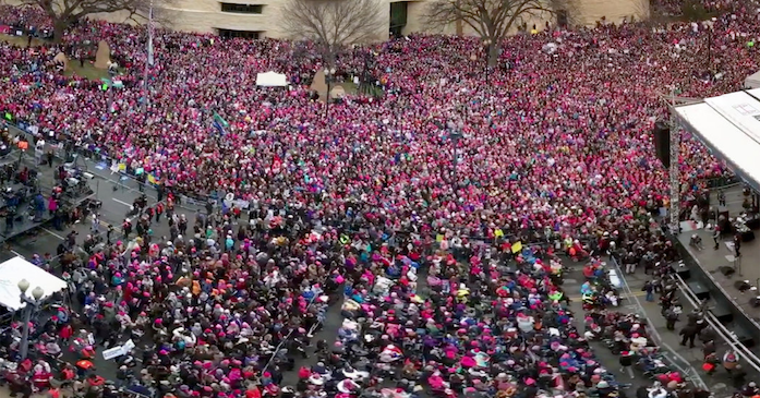 Washington+D.C.+was+flooded+with+protestors+at+the+Women%27s+March.