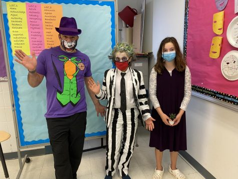 Students and teachers costumed up for DFMS